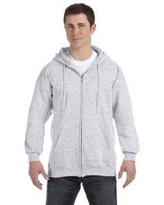 (Hanes Mens Ultimate Cotton® Heavyweight Full Zip Hoodie)