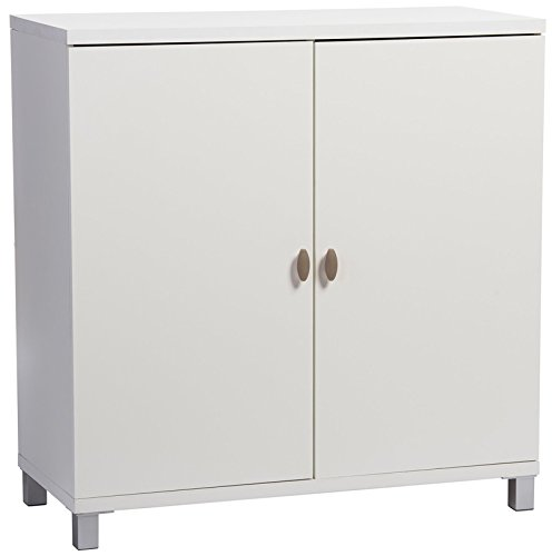 - Baxton Studio Marcy Modern & Contemporary Wood Entryway Handbags or School Bags Storage Sideboard Cabinet, White
