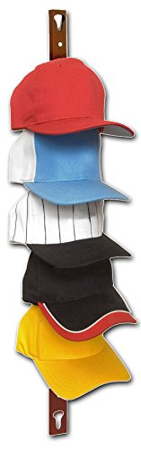 Generic NV_1008003178_YC-US2 HATSK H STORAGE AND ORGA BASEBALL CAP RACK STORA COLLECTOR DISPLAY D COL HANGER - ORGANIZE R DIS UP TO 10 HATS BASEBAL by Generic