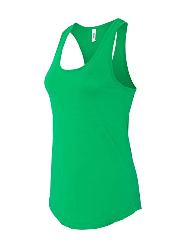 Next Level Apparel Women's The Ideal Quality Tear-Away Tank Top_L_Kelly Green