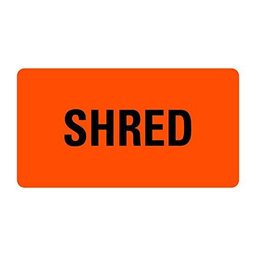 SHRED Medical Records Labels LV-MRL23 -