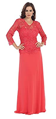 US Fairytailes Mother of the Bride Formal Evening Dress #21107