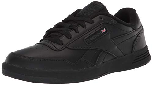 Reebok Men's Club Memt Fashion Sneaker, Black/Dhg Solid Grey, 11.5 4E US