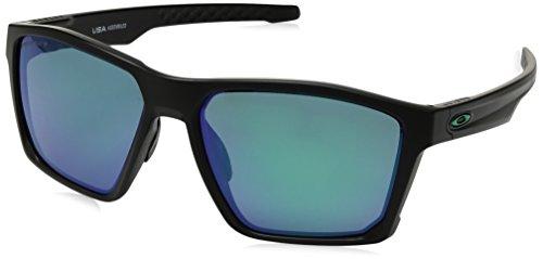 (Oakley Men's Targetline Polarized Iridium Square Sunglasses, MATTE BLACK, 58.0 mm)