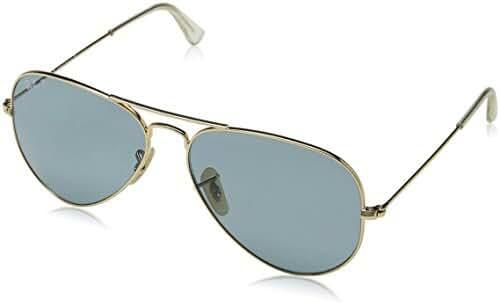 Ray-Ban Men's RB3025 Aviator Metal Aviator Sunglasses