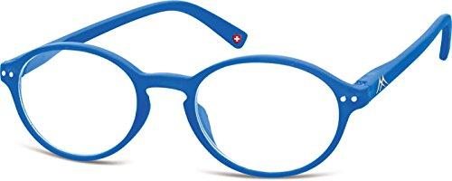PRE-MONTEES LOUPE MR74E Bleu avec étui souple Mixte - loupe:+3.0