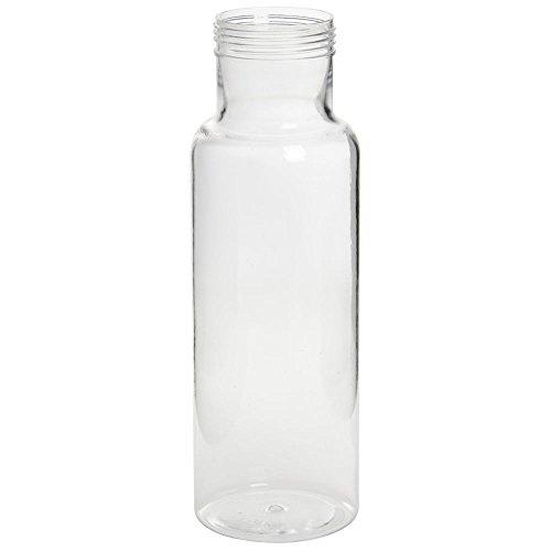 Cal-Mil 28 Oz Clear Polycarbonate Dressing Bottle - 2 1/2 Dia x 10