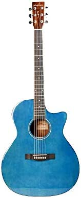 アコースティックギター フォークアコースティックギターフェイスシングルギターライトスプルースギター演奏 初心者セット (色 : B, Size : 41 inches)