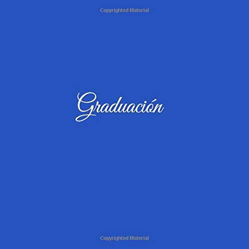 Libro de recuerdos Libro De Visitas para Banquetes de Graduación Fiestas ideas regalos decoracion accesorios graduacion firmas ... escuela Cubierta Azul ...