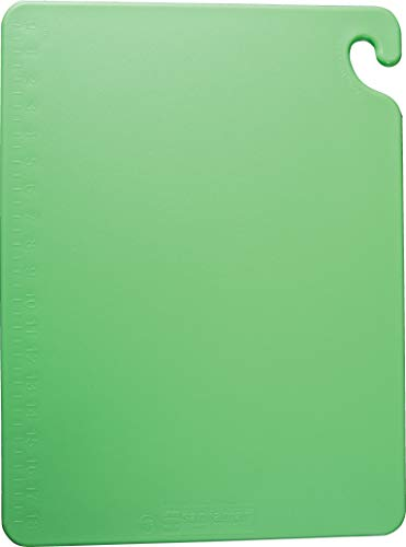 San Jamar CB182412 Cut-N-Carry Co-Polymer Cutting Board, 24