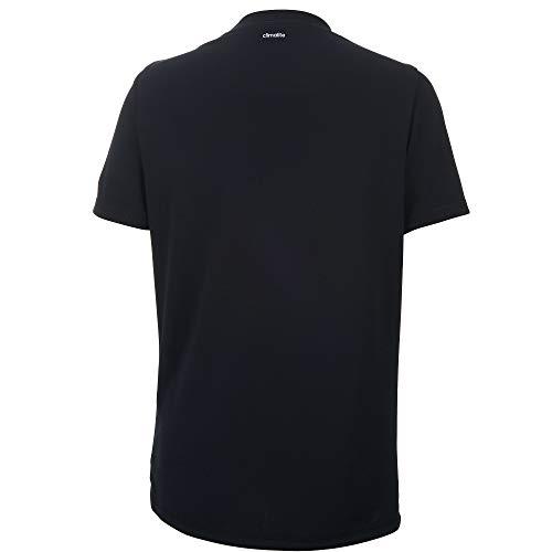 adidas Boys' Short Sleeve Aeroready Performance Logo Tee T-Shirt 2