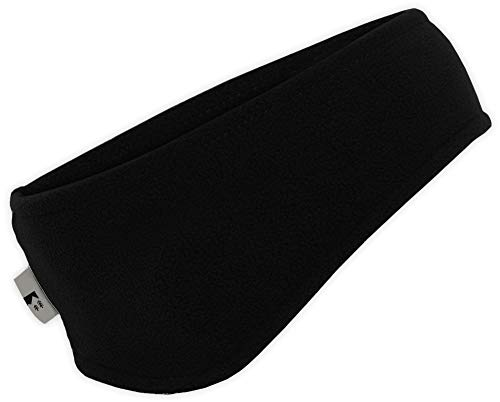 Fleece Headband Ear Warmer - OutdoorEssentials Fleece Ear Warmers Headband/Ear Muffs for Men & Women - Stay Warm & Cozy with Our Thermal Polar Fleece & Performance Stretch. Perfect for Sports & Daily Wear