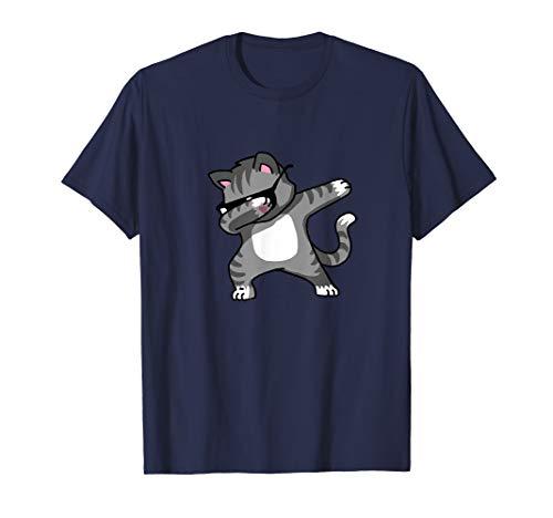 Dabbing Cat Funny Shirt Dab Hip Hop Dabbing Kitten  ()