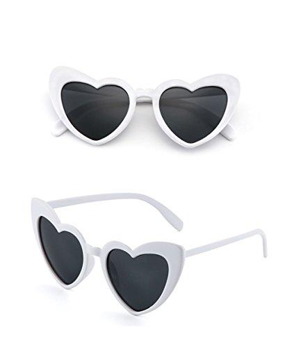 Protection A Lunettes couleur amp; Coréenne x882 Soleil Fashion Mode Femmes Eyewear De En amp;lunettes Coeur Lym Forme B TntHqZSTx
