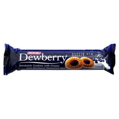 Dewberry , Sandwich Cookie Blueberry - 3.7 Ounces