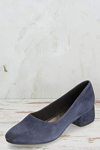 Scuro Donna Vagabond Tacco Col Blu Scarpe AOOqPF