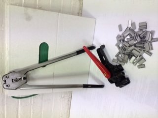 Mini PET Strapping Kit 1,400 LBS Break Strength