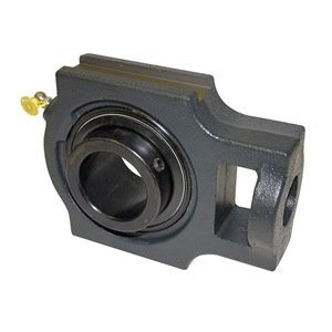 Sealmaster MST-19 Take-Up Unit, Medium Duty, Regreasable, Setscrew Locking Collar, Felt Seals, Cast Iron Housing, 1-3/16' Bore, 17/32' Slot Width, 3-1/2' Between Frames