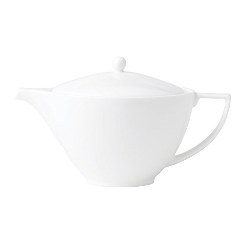 Jasper Conran by Wedgwood White Bone China Teapot 1.7 Pt