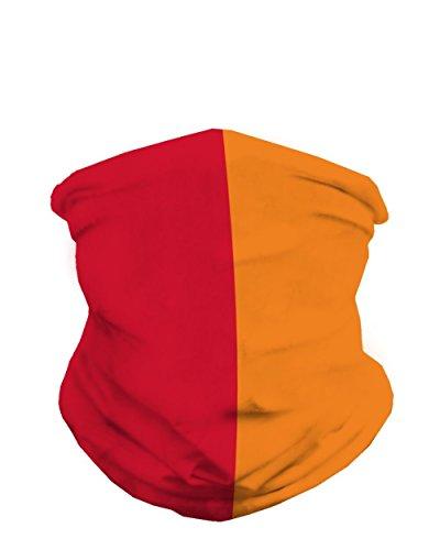 21839128965a6 INTO THE AM Red & Orange Sports Fan Mask Bandana