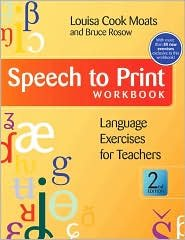 Speech to Print Workbook 2nd (second) edition Text Only