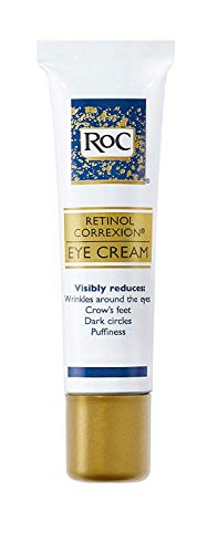 RoC Retinol Correxion Anti-Aging Eye Cream Treatment for Wrinkles, Crows Feet, Dark Circles, and Puffiness.5 fl. oz (Best Rated Wrinkle Filler)