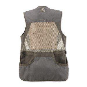 Browning Men's Summit Vest, Green/Dark Grey, Large