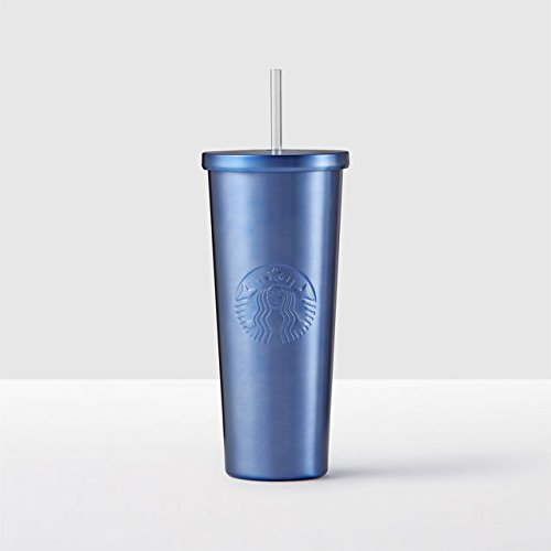 d64d233ac04 Starbucks Midnight Blue Stainless Steel Cold Cup, 24 fl oz