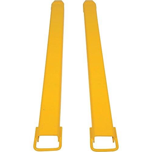 Vestil FE-4-72 Steel Fork Extensions, Accommodates 4'' Fork Width, 72'' Length, 2'' Thickness by Vestil (Image #2)