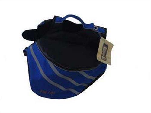 Pet Life Dupont Everest Backpack, Blue, Large, My Pet Supplies