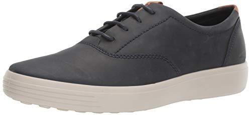 ECCO Men's Soft 7 CVO Sneaker, Marine Nubuck, 39 M EU (5-5.5 US)