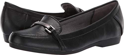 - LifeStride Women's, Remedy Slip on Loafers Black 7 W