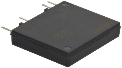 Omron G3MC-202P DC24 Thin-Profile Solid State Relay, Zero Cross Function, Snubber Circuit, Phototriac Coupler Isolation, 2 A Rated Load Current, 100 to 240 VAC Rated Load Voltage, 24 VDC Input Voltage