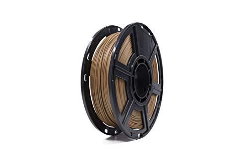 Filamento para Impressora 3D, Flashforge, Madeira Escuro, 0.5 kg