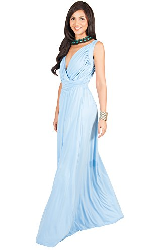 Blue Bridesmaid Gowns - 8