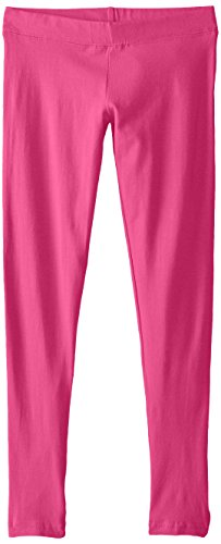 French Toast Girls' Big Solid Legging, Rose Violet L -