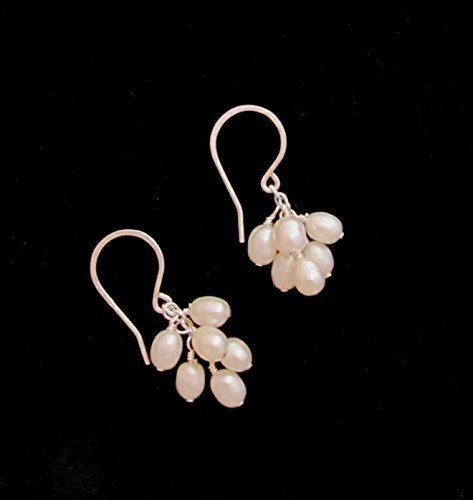 Freshwater pearl silver filled wire