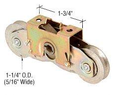 CRL 1-1/4'' Tandem Steel Ball Bearing Roller Assembly for Andersen Doors