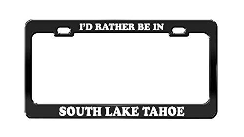 lake tahoe license plate frame - 5