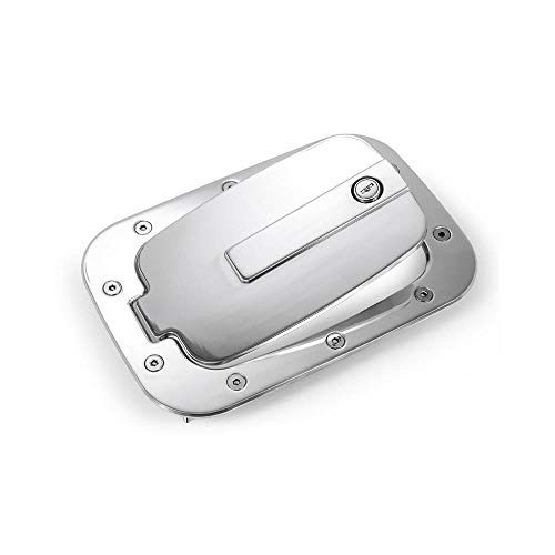 (AMI 6158P Race Style Billet Fuel Dr 10 3/8'' X 7 Ring 8'' X 4 5/8'' Door-Polished)
