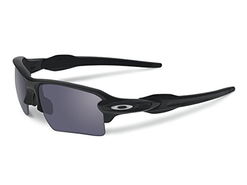 Oakley FLAK 2.0 XL shooting shades (Matte Black, - Shooting Sunglasses Oakley For