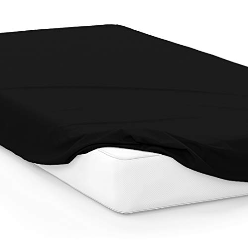 American Pillowcase College Dorm Twin XL Bed Fitted Mattress Sheet Ultra Soft Hypoallergenic Wrinkle-Free, Stain, and Fade Resistant - ()