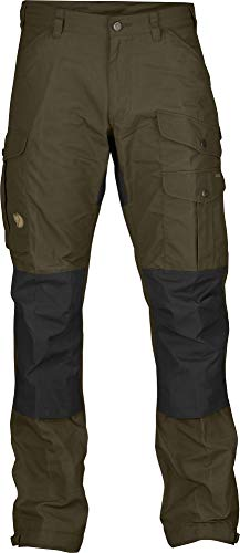 Fjallraven - Men's Vidda Pro Trousers Regular, Dark Olive, 54 -