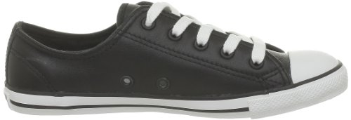 Mixte Adulte Ox Noir Mode Leath Dainty Converse Baskets qwU7W4