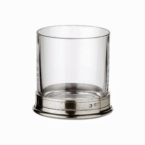 Match Pewter Double Old Fashioned Glass, Crystal
