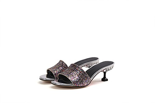 Qin Flop Sandals Stiletto Photo Flip Women's amp;x Heels wHwqgPOa