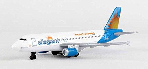 Allegiant Airlines Single Plane, White - Daron RT2324 - Diecast Model Airplane (Plane Replica)