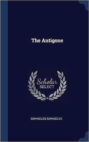 Book The Antigone