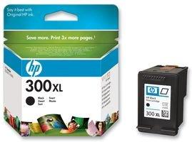HP CC641EE 300XL Cartucho de Tinta Original de alto rendimiento, 1 unidad, negro