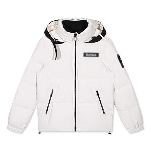 online store da1b7 2b699 Cappotti Caldo Bianco Uomo Abbigliamento Piumino Pesante ...